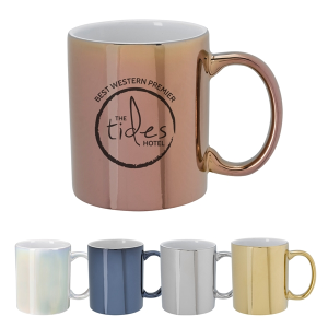 12 Oz. Iridescent Ceramic Mug